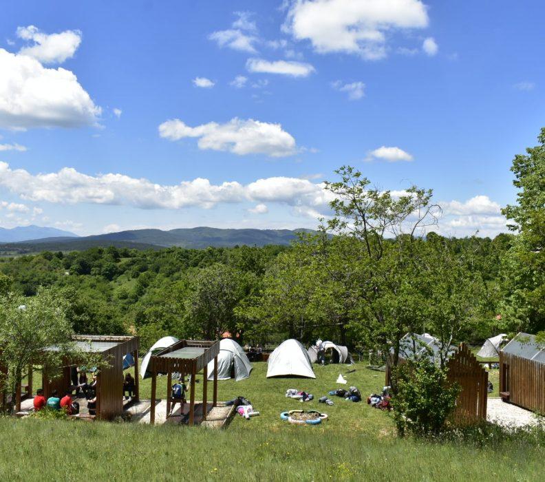 Извиднички одреди во посета на Едукативниот центар за зачувување на природата во с.Негрево