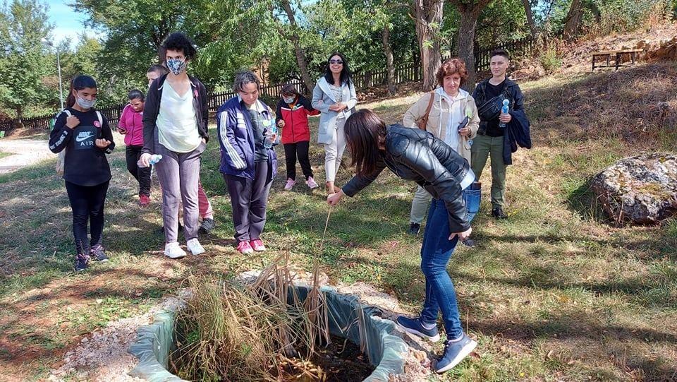 Дневниот центар за лица со посебни потреби од Виница во посета на Едукативниот центар за зачувување на природата